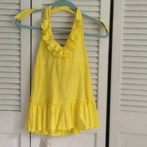 Sunshine Yellow tank  xs